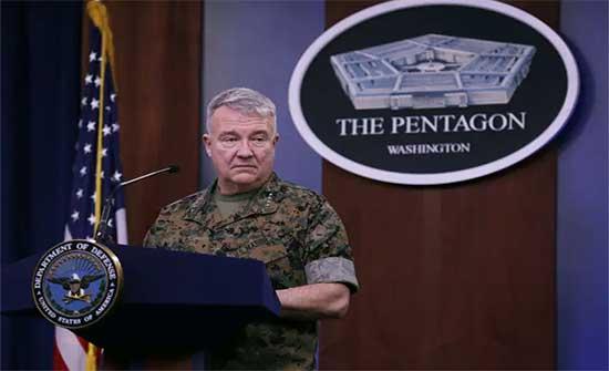 ماكينزي : تربطنا علاقات مهنية مع الجيش الروسي في سوريا