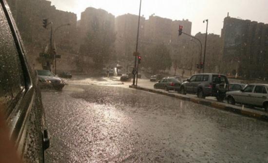 بلدية الرصيفة تعلن حالة الطوارىء للتعامل مع المنخفض الجوي