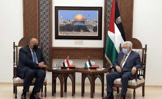 عباس : مستعدون لتشكيل حكومة وفاق ملتزمة بالشرعية الدولية