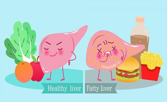 الأغذية عالية الفركتوز والدهون تضر بصحة الكبد