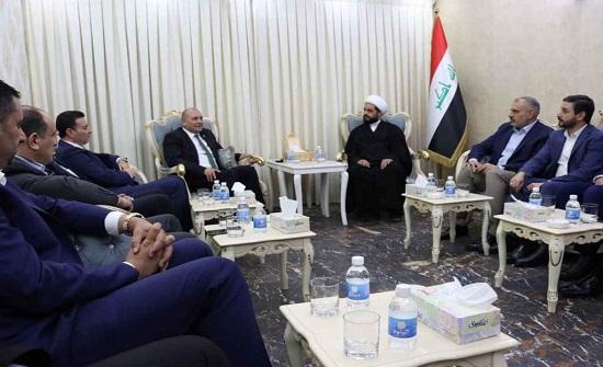 تحالف الفتح وعصائب أهل الحق يشيدان بموقف الأردن في الدفاع عن القضية الفلسطينية
