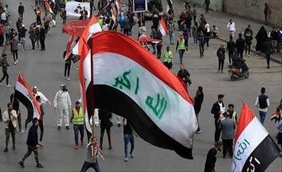 محتجون غاضبون يقتحمون محطة كهرباء الناصرية في العراق .. بالفيديو