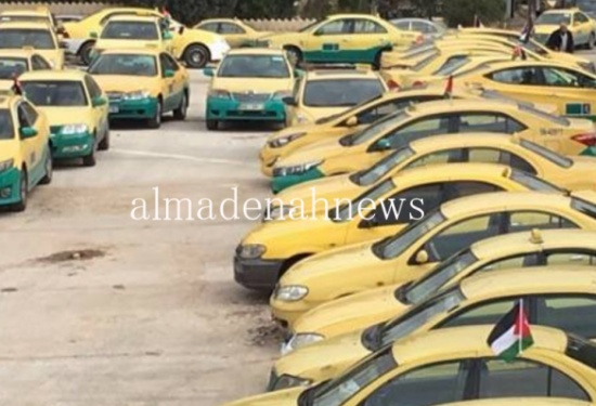 مكاتب تاكسي الزرقاء تنفذ اعتصاما مفتوحاً الاحد