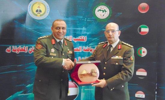 اختتام اجتماعات المكتب التنفيذي للاتحاد العربي للرياضة العسكرية