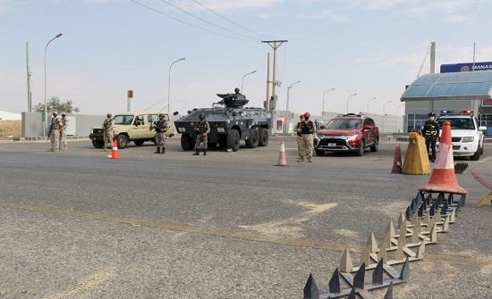 القوات المسلحة تواصل تطبيق الحظر الشامل في محافظات المملكة