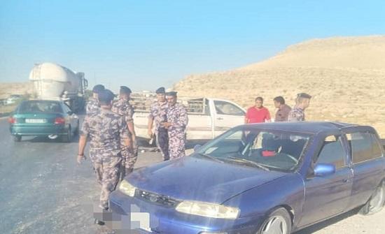 5 إصابات اثر حادث تصادم بين مركبتين في الزرقاء