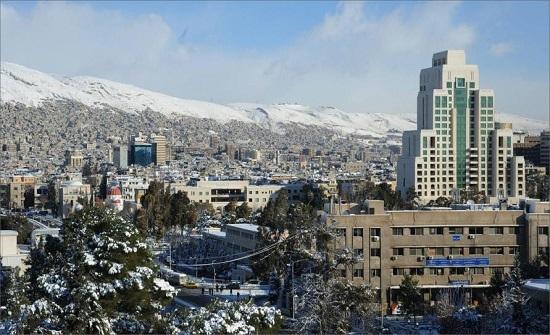 فيديو لشوارع دمشق الخالية من المارة بعد حظر التنقل