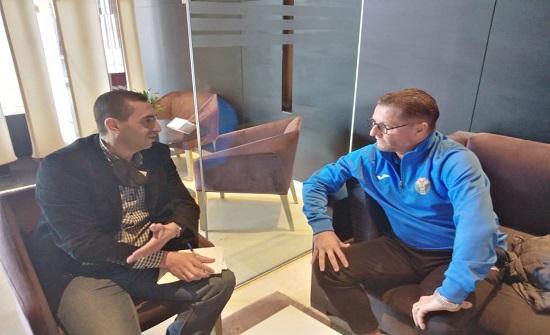 فيتال يكشف عن مدرب بلجيكي جديد لمنتخب النشامى ويتحدث في شؤون الكرة الأردنية