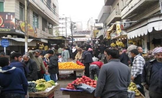 اربد : منع البسطات في حسبة الجامع وسوق البالة اعتباراً من الخميس