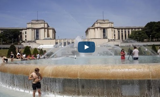 الحرارة في فرنسا 45 درجة