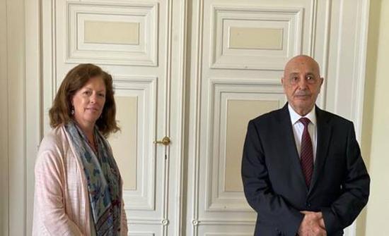 رئيس مجلس النواب الليبي يصل إلى جنيف
