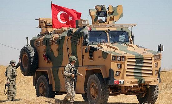 مقتل جندي تركي وإصابة 6 بانفجار لغم أرضي شمالي سوريا