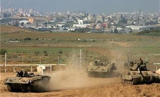 الاحتلال الاسرائيلي يتوغل شرق خانيونس جنوب قطاع غزة