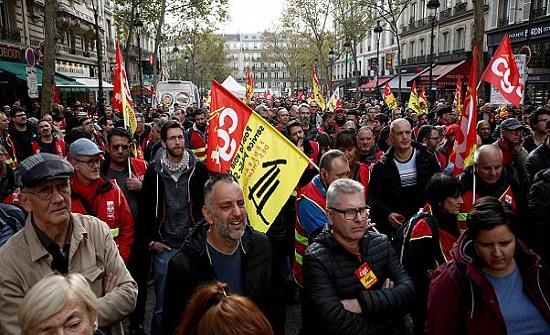 إضراب عام في فرنسا