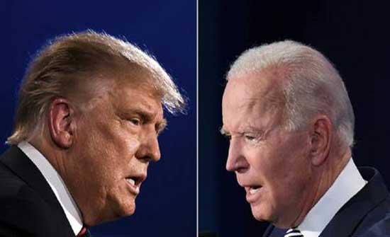 ترامب ينتقد بايدن بشدة على موقفه تجاه العنصرية في البلاد