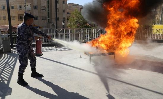 الدفاع المدني يُنظم مبادرة (شتاء آمن) في عمان