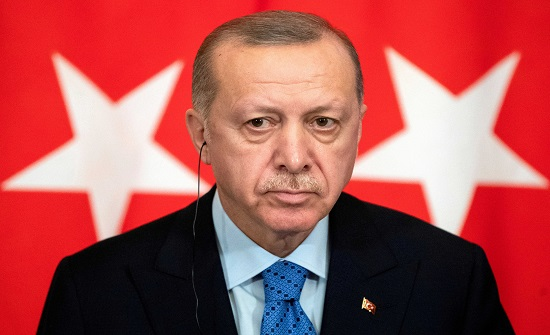 أردوغان: نبني تركيا القوية