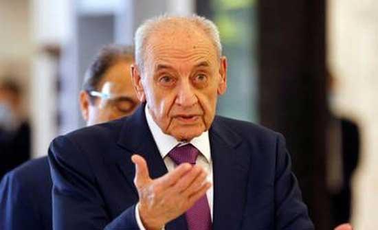 بري يدعو الى ازالة عوائق تشكيل الحكومة في لبنان