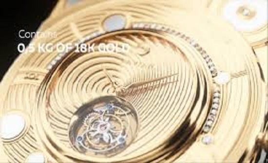 """""""آيفون"""" تطرح الهاتف الأغلى في العالم.. مزود بنصف كيلو من الذهب (فيديو)"""