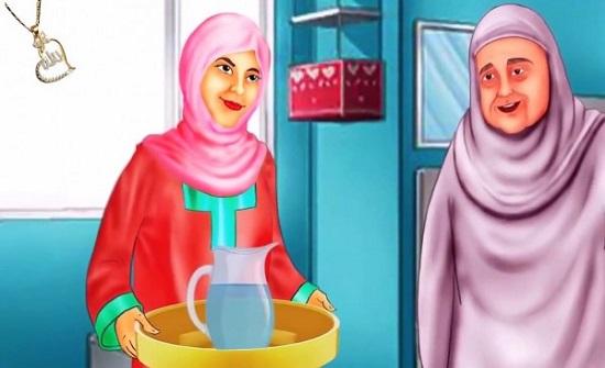 ما حكم خدمة الحماة من زوجة الابن؟