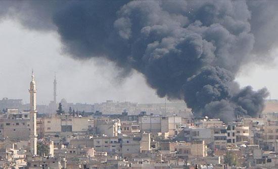 قتلى وجرحى في قصف للنظام السوري بريف إدلب الغربي