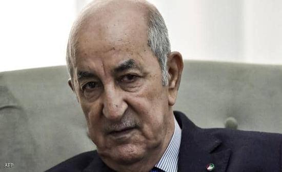 رئيس الجزائر يدخل المستشفى المركزي للجيش