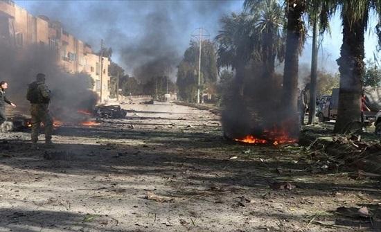 """مقتل مدني بتفجير في """"رأس العين"""" شمال سوريا .. بالفيديو"""