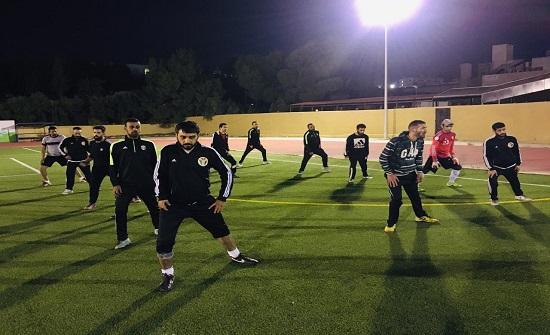 منتخب الشلل الدماغي لكرة القدم يباشر تدريباته