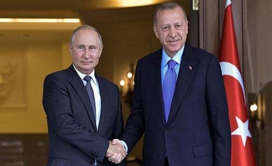 الكرملين: بوتين وأردوغان يعتزمان تدشين خط أنابيب غاز