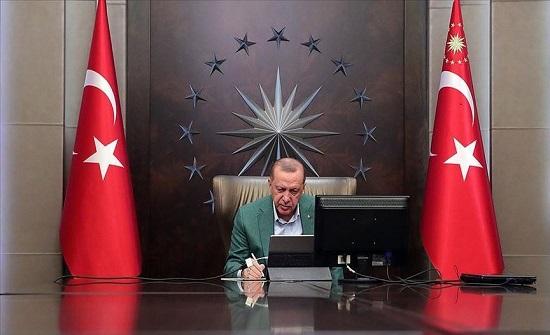 أردوغان: نتابع عن كثب كافة إجراءات مؤسساتنا ضد كورونا