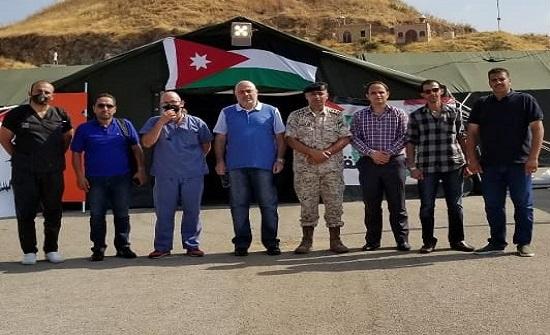 لبنان:رئيس بلدية الدكوانة يزور المستشفى الميداني الاردني