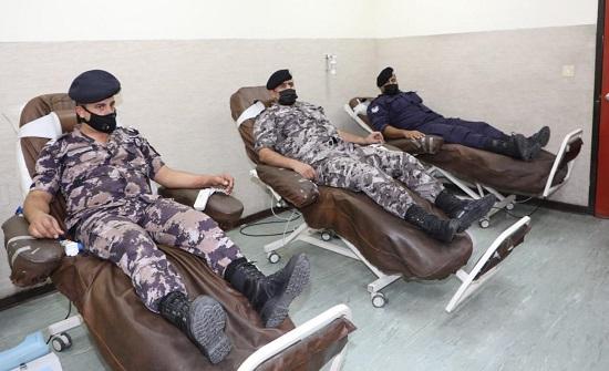 بالصور.. ايعاز لكافة وحدات الأمن العام بتأمين ١٢٠ وحدة دم لأحد المواطنين