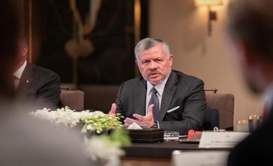 الملك يلتقي رئيس المجلس الأوروبي