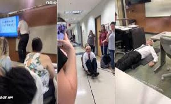 طالبة تحول أستاذها الستيني لنجم يتابعه الملايين! - فيديو