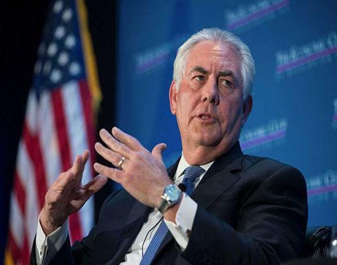 تيلرسون: الأسد لا زال يستخدم الكيماوي ضد شعبه وروسيا تتحمل المسؤولية
