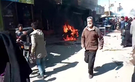قتلى وجرحى بانفجار دراجة مفخخة في ريف دير الزور .. بالفيديو