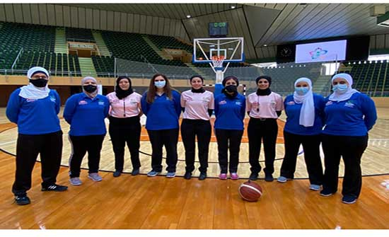 اردنيات يشاركن في تحكيم أول دوري نسوي سعودي لكرة السلة