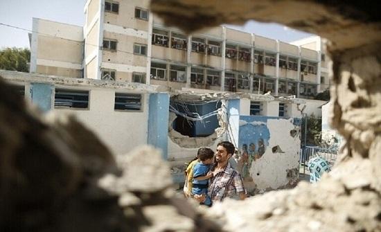 وزارة التربية والتعليم في غزة تنهي العام الدراسي