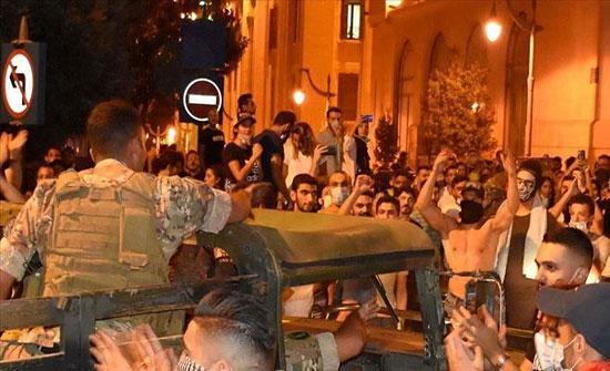 الأمن اللبناني: توقيف 11 شخصا قاموا بأعمال شغب في بيروت