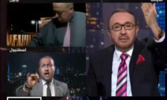 """ضيف الاتجاه المعاكس في قناة الجزيرة يهرب بعد مواجهته في حلقة عن مسجد """"أيا صوفيا""""- (فيديو وتغريدات)"""