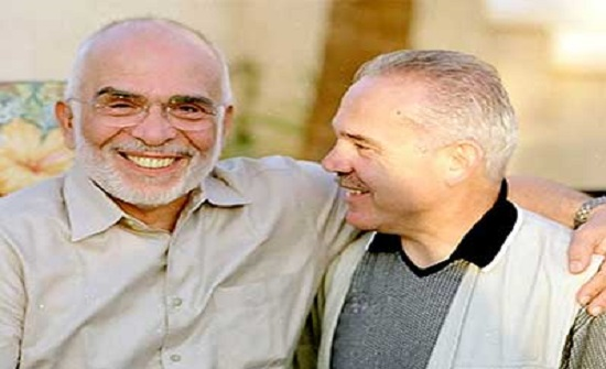 زهراب يروي قصة 22 عاماً من ذاكرة الصور مع الملك الحسين طيب الله ثراه