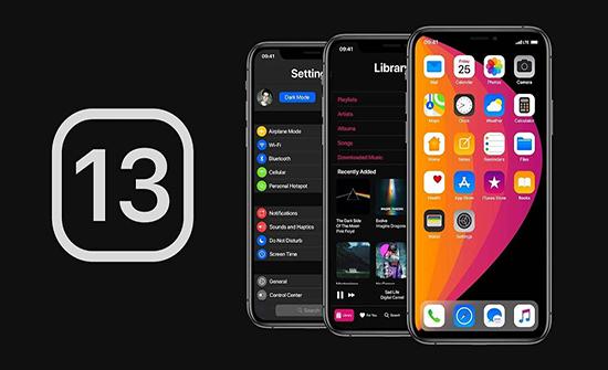 50 % من نسخ الآيفون تعمل بإصدار النظام الأخير iOS 13