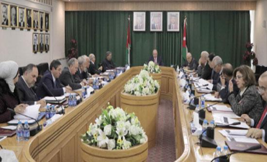 الفايز يترأس اجتماع لجنة الأعيان المكلفة بقراءة الأوراق النقاشية الملكية