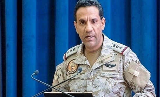 """التحالف يعترض ويدمر """"مفخخة حوثية"""" باتجاه السعودية"""