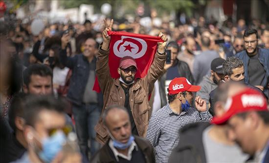 تونس.. تواصل الاحتجاجات في تطاوين لليوم الثاني