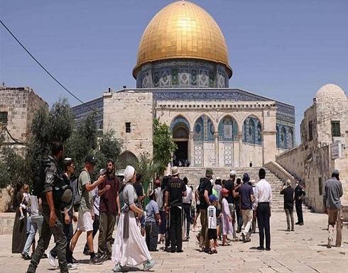 مئات المستوطنين يستبيحون الحرم الإبراهيمي في الخليل ويقتحمون الأقصى