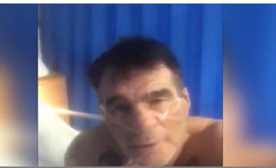 يلهث لالتقاط أنفاسه.. شاهد كورونا يفتك بملاكم شهير | فيديو