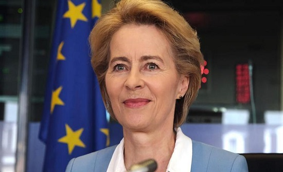 رئيسة المفوضية الأوروبية: لم يتم الانتهاء من وضع تفاصيل خطة المناخ