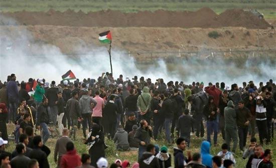 05 شهداء و17 ألف مصاب ضحايا اعتداء الاحتلال الاسرائيلي على مسيرات العودة