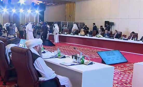المحادثات الأفغانية بالدوحة.. طالبان تسعى للتطبيع مع واشنطن وتقترح هدنة بمناسبة العيد